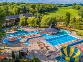 Hotel Termalkristaly**** Aqualand water complex with slide park