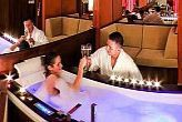 Honeymoon Suite with jacuzzi in Royal Club Hotel in Visegrad