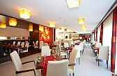 Restaurant in Visegrad in Royal Club Hotel with Hungarian and international specialities